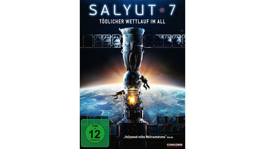 Salyut 7 Toedlicher Wettlauf im All