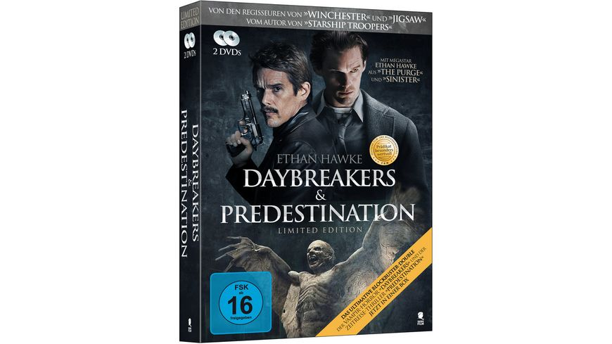 Daybreakers Predestination Limited Edition 2 DVDs