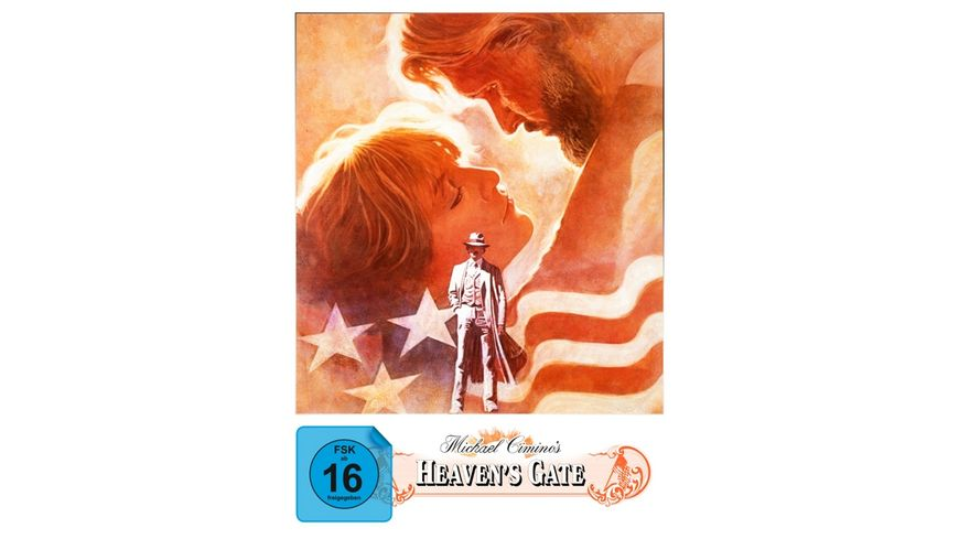 Heaven s Gate Director s Cut Mediabook 3 Disc Limited Collector s Edition Blu ray DVD Bonus Blu ray