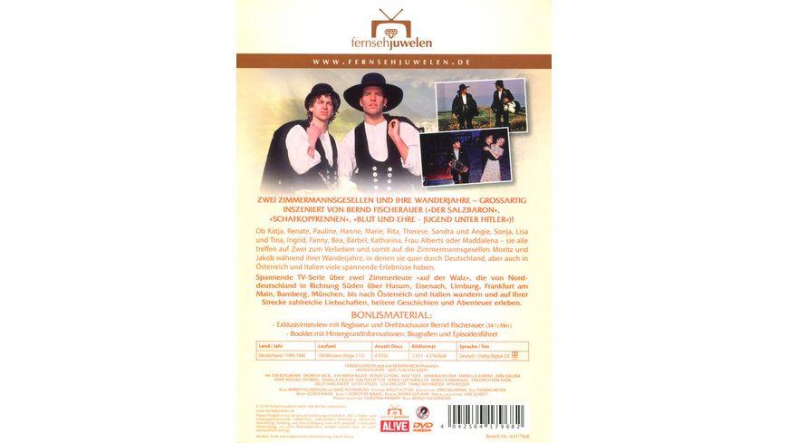 Wanderjahre Zwei zum Verlieben 4 DVDs
