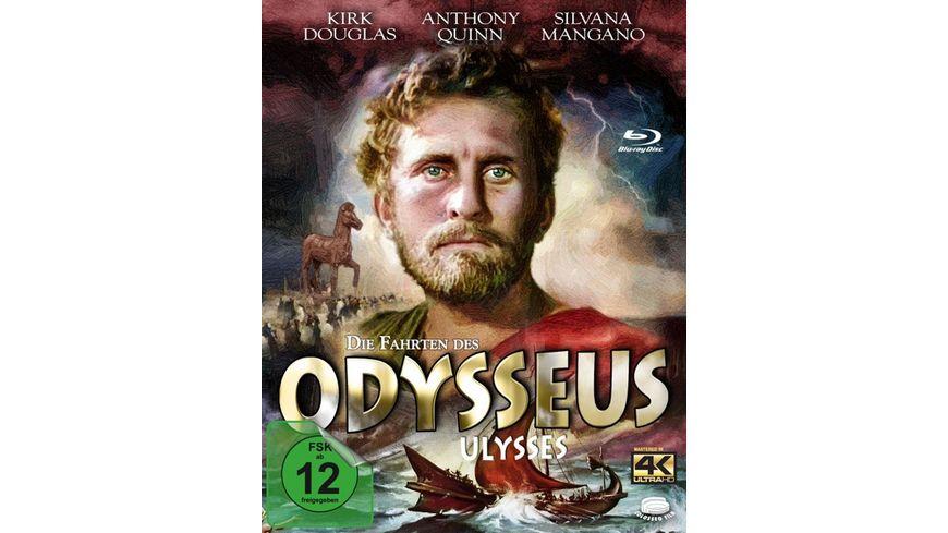 Die Fahrten des Odysseus Ulysses Blu ray im Schuber inkl Bonus DVD