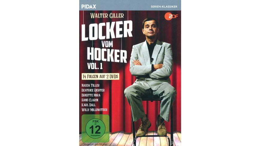 Locker vom Hocker Vol 1 Die ersten 14 Folgen der Kultserie Pidax Serien Klassiker 2 DVDs