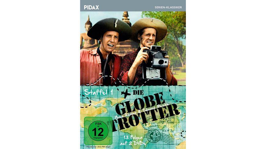 Die Globetrotter Staffel 1 Pidax Film Klassiker 2 DVDs