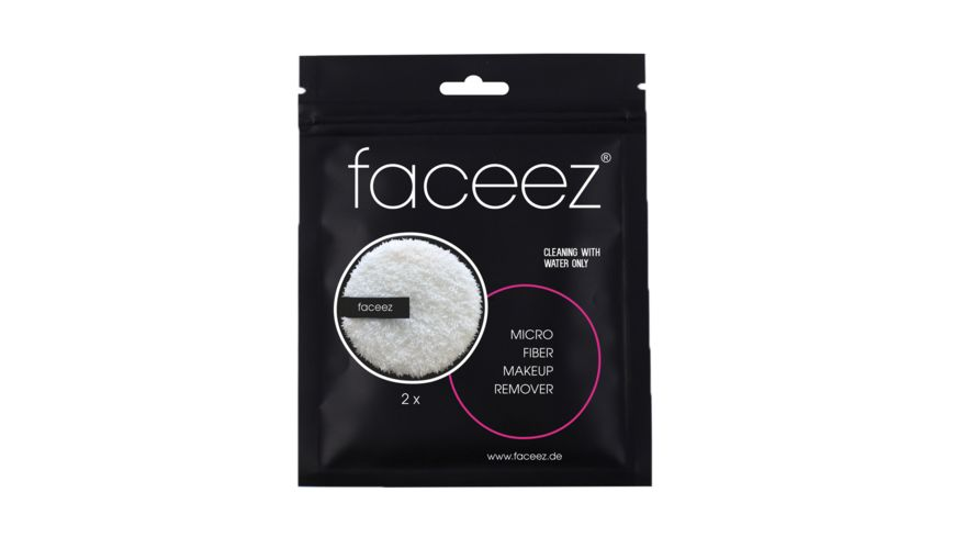 faceez Make Up Remover Pads 2er Set