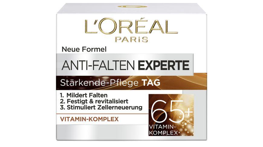 L OREAL PARIS Anti Falten Experte Feuchtigkeitspflege 65 Vitamin Komplex