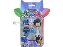 Simba PJ Masks Pyjamahelden Light Up Catboy und Romeo