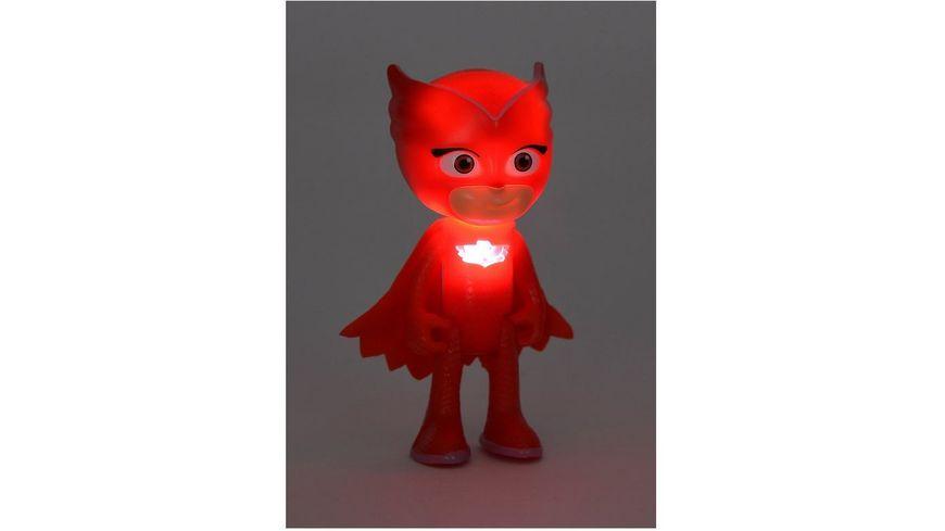 Simba PJ Masks Pyjamahelden Figuren Set Light Up Eulette und Luna