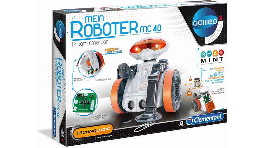 Clementoni Galileo Mein Roboter MC 4 0
