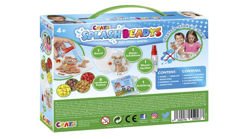 CRAZE SPLASH BEADYS Starter Set Bello
