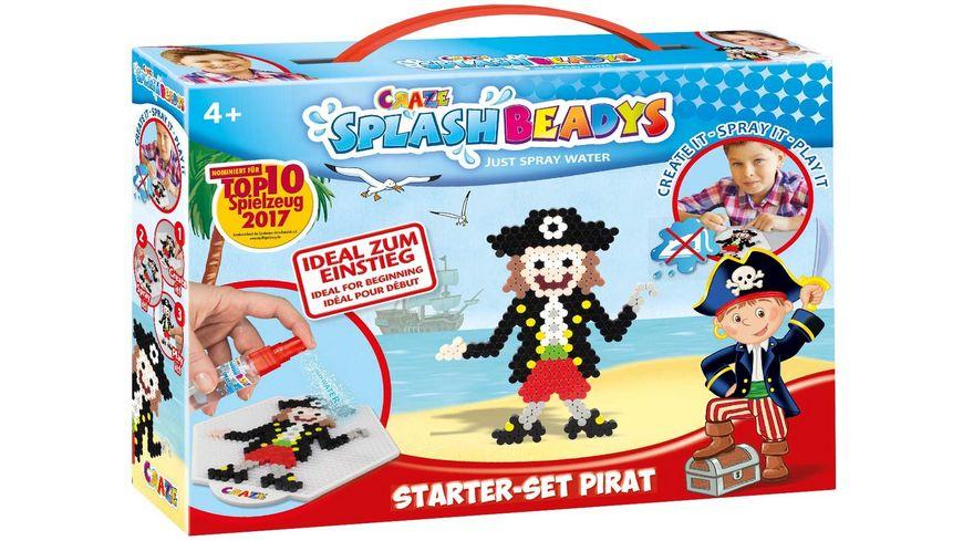 craze splash beadys starter set pirat online bestellen m ller. Black Bedroom Furniture Sets. Home Design Ideas