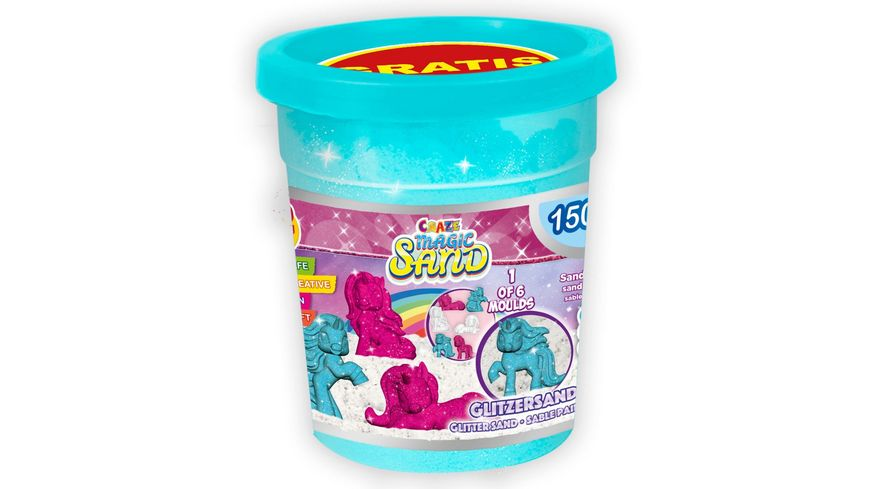 CRAZE CRAZE Magic Sand UNICORN Refill Can sortiert