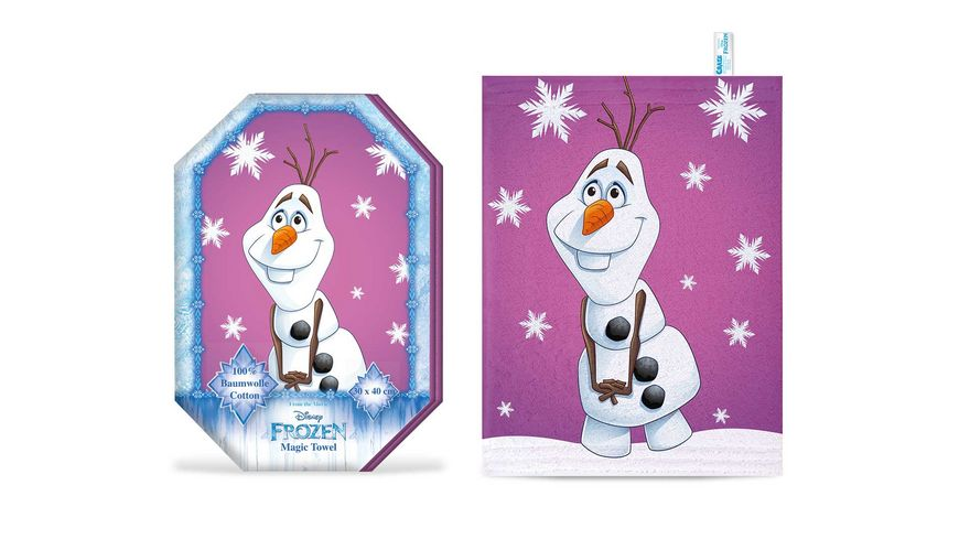 CRAZE Magic Towel FROZEN sortiert