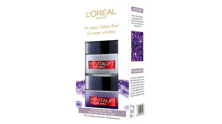 L'Oréal Paris Revitalift Filler Tag + Nacht Coffret