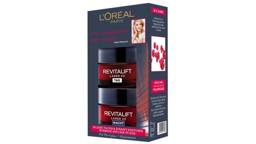 L Oreal Paris Revitalift Laser X3 Tag Nacht Coffret
