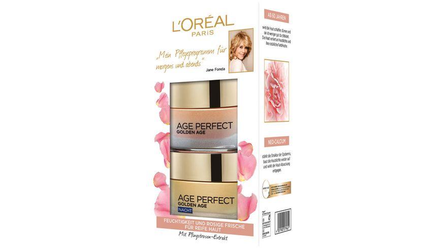 L OREAL PARIS Age Perfect Golden Age Tag und Nacht Gesichtspflege Set