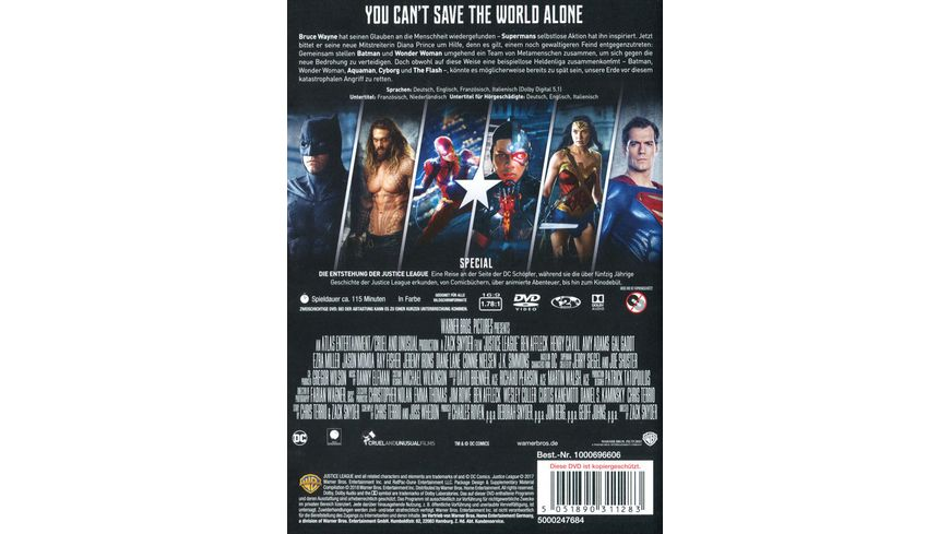 Justice League Star Selection