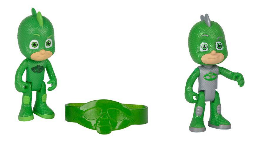 Simba PJ Masks Pyjamahelden Gekko 8cm 1 Stueck sortiert