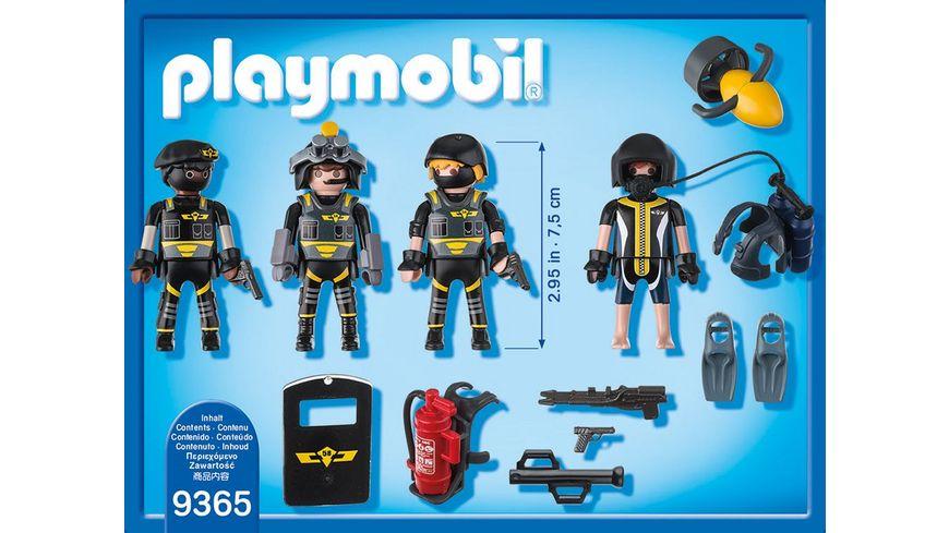 PLAYMOBIL 9365 City Action SEK Team