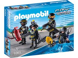 PLAYMOBIL 9365 City Action SEK Team
