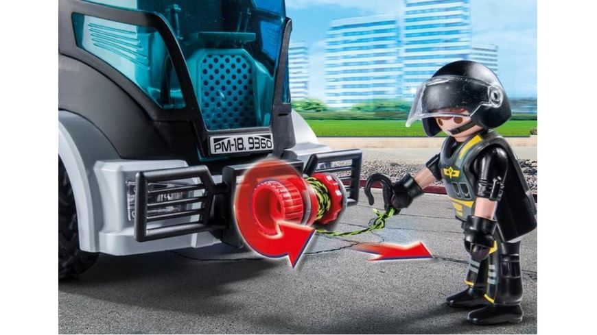 PLAYMOBIL 9360 City Action SEK Truck mit Licht und Sound
