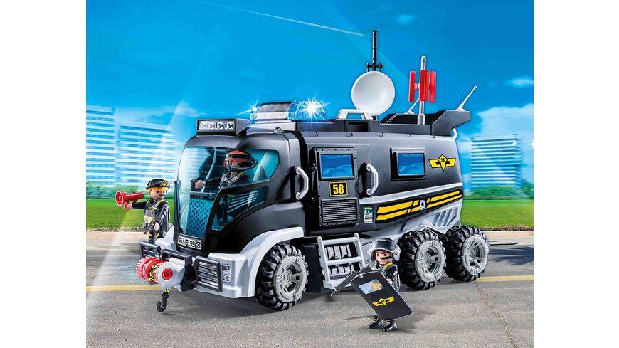PLAYMOBIL 9360 City Action SEK Truck mit Licht und Sound