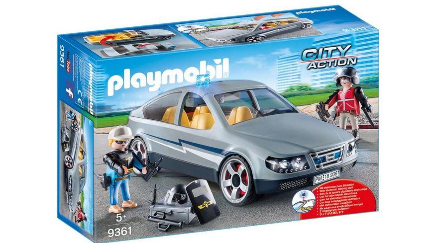 PLAYMOBIL 9361 City Action SEK Zivilfahrzeug