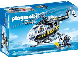 PLAYMOBIL 9363 City Action SEK Helikopter