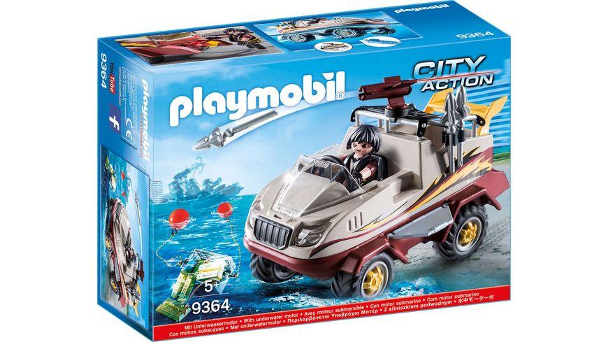 PLAYMOBIL 9364 City Action Amphibienfahrzeug