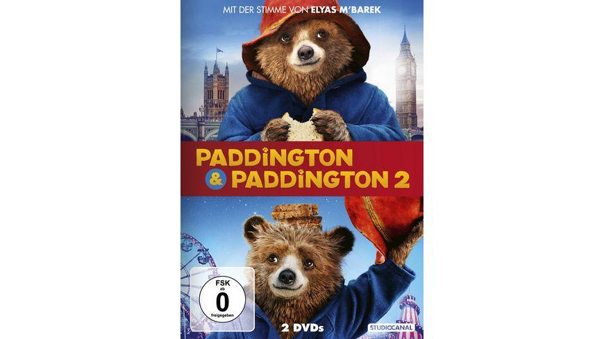Paddington 1 2 2 DVDs