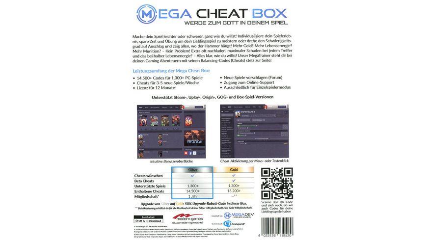 Mega Cheat Box