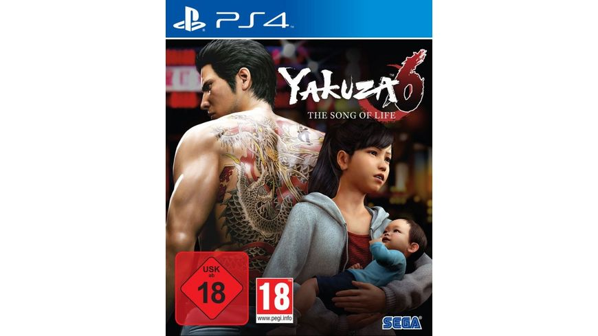 Yakuza 6 The Song of Life Launch Edition