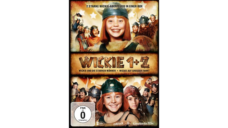 Wickie 1 2 2 DVDs