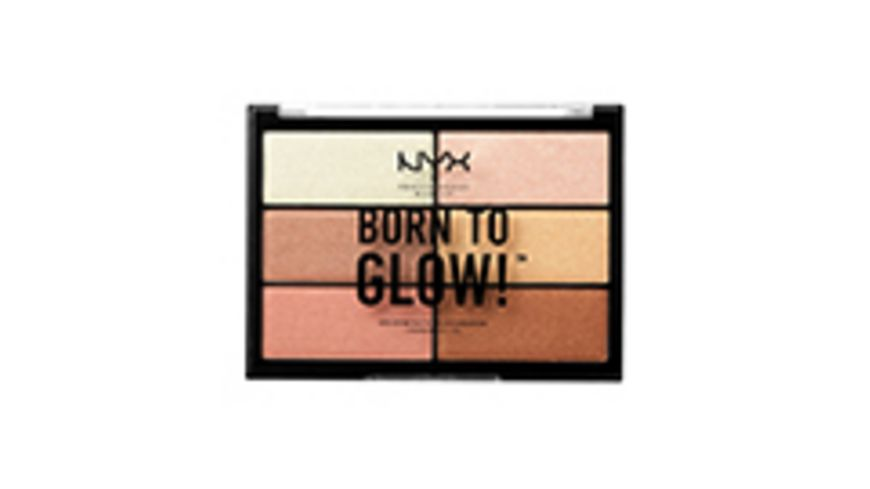 NYX PROFESSIONAL MAKEUP Highlighter Palette Born To Glow