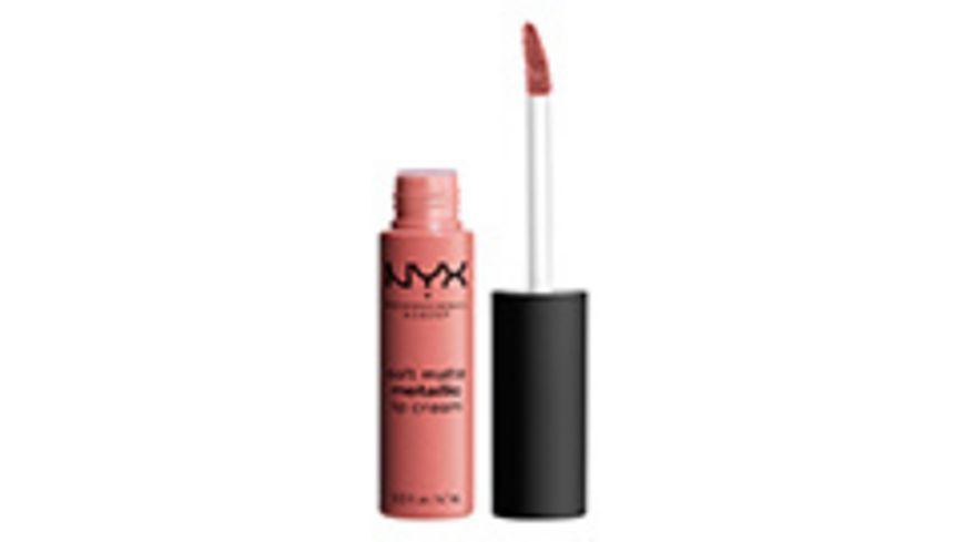 NYX PROFESSIONAL MAKEUP Lippenstift Soft Matte Metallic Lip Cream