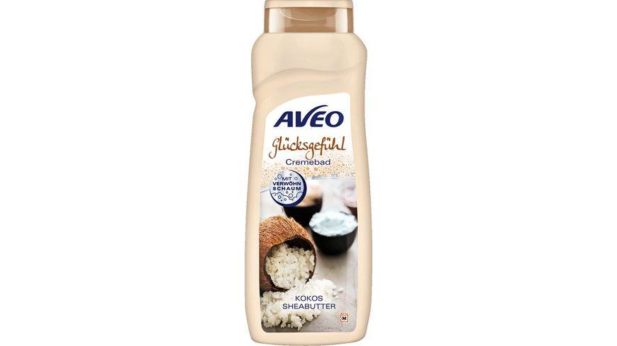 AVEO Cremebad Glücksgefühl Kokos & Sheabutter