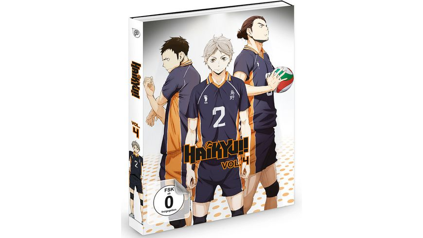 Haikyu Vol 4 Episode 19 25 2 DVDs