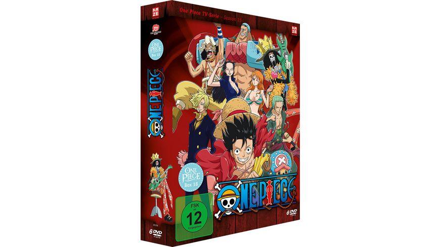 One Piece TV Serie Box Vol 18 Episoden 546 573