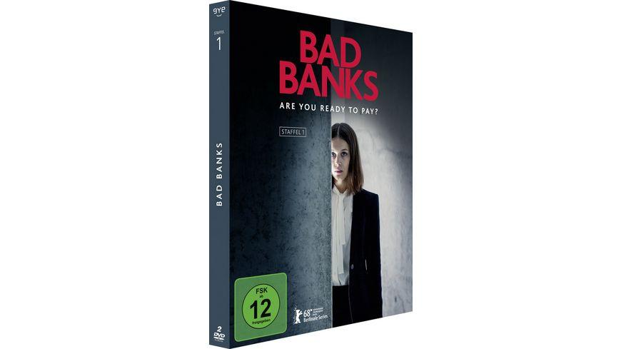 Bad Banks Die komplette erste Staffel 2 DVDs