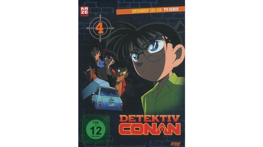Detektiv Conan TV Serie DVD Box 4 Episoden 103 129 5 DVDs
