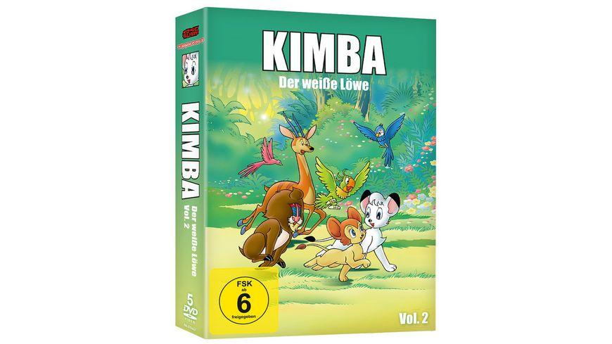 Kimba Der weisse Loewe Box 2 5 DVDs