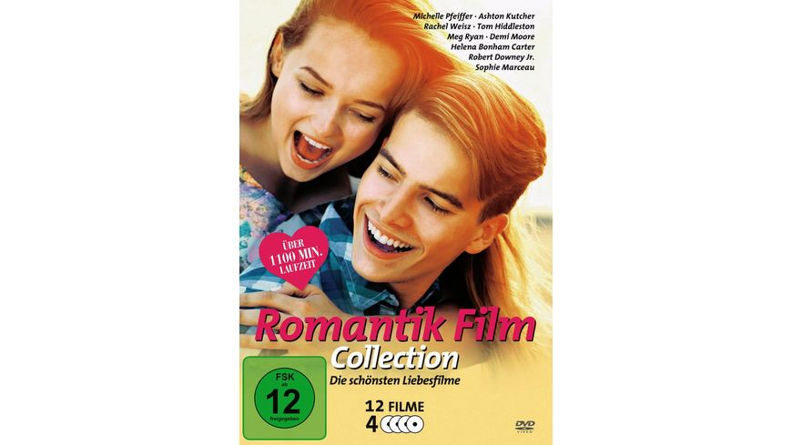 Romantik Film Collection 4 DVDs