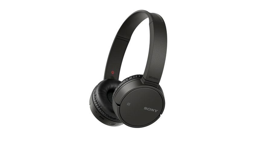 Sony Kopfhoerer Bluetooth schwarz