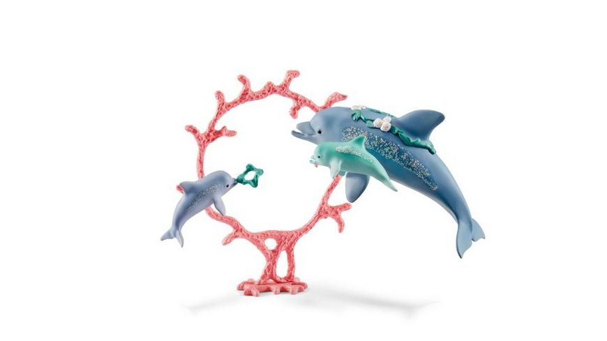 Schleich 41463 bayala Delfin Mama mit Babies