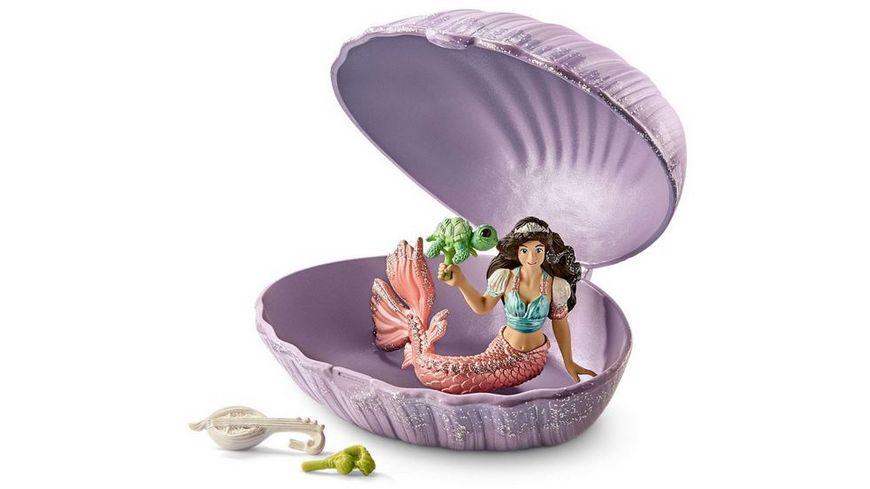 Schleich 70562 bayala Meerjungfrau mit Baby Schildkroete in Muschel