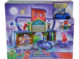 Simba 109402158 PJ Masks Pyjamahelden Abenteuerspielplatz