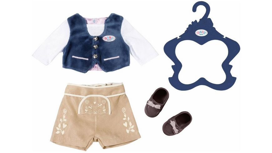 Zapf Creation BABY born Trachten Outfit Junge