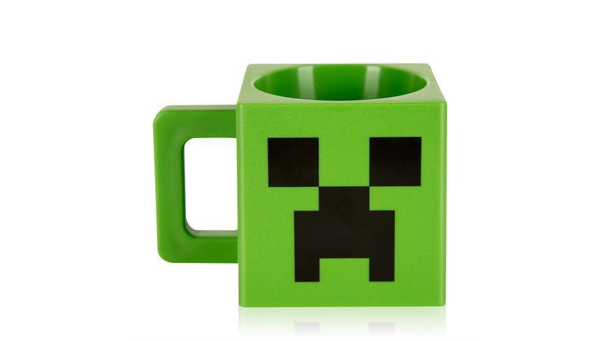 Minecraft Tasse Creeper