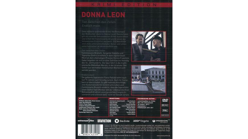 Donna Leon Tod zwischen den Zeilen Endlich mein