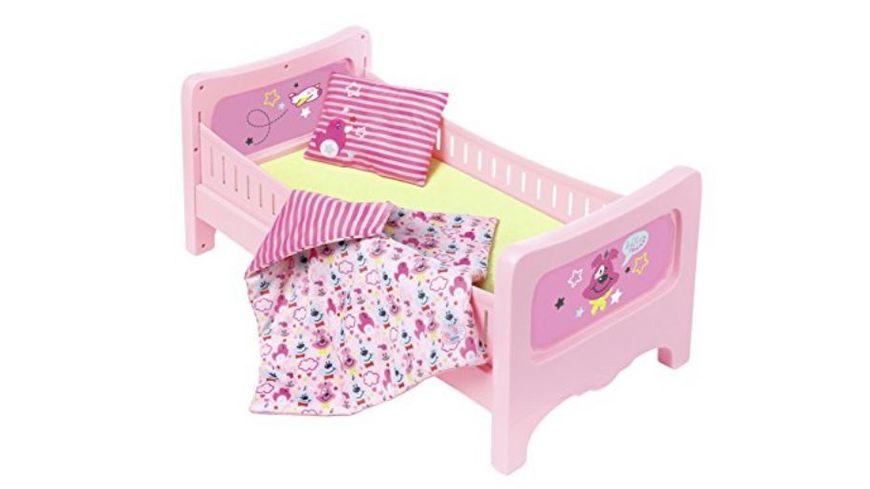 Zapf Creation Baby born Bett mit Kuschelbettzeug