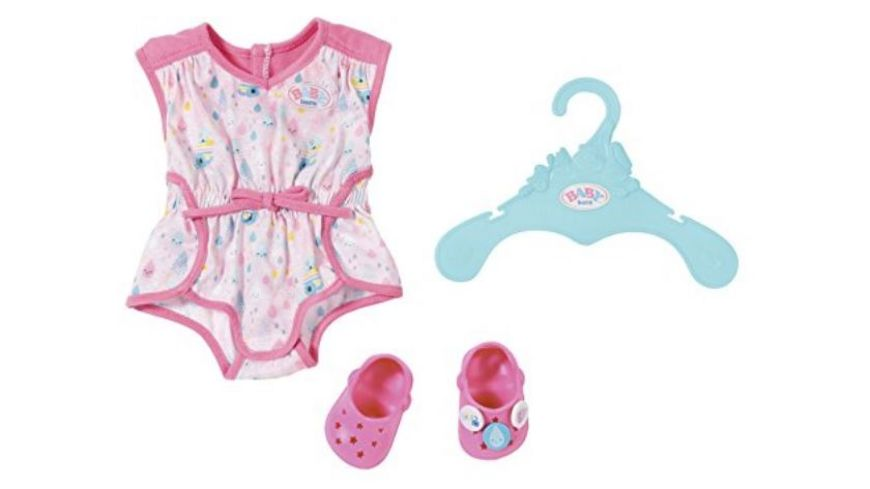 Zapf Creation Baby born Shorty Pyjama mit Clogs